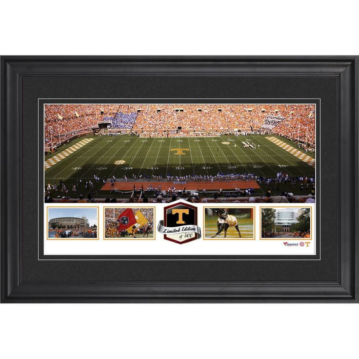 Tennessee Volunteers Fanatics Authentic Framed Neyland Stadium Panoramic Collage-Limited Edition of 500