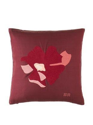 65% OFF Sonia Rykiel Luxure Decorative Pillow, Lie De Vin