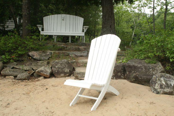 Mejores 8 imágenes de Adirondack en Pinterest | Carpintería, Muebles ...