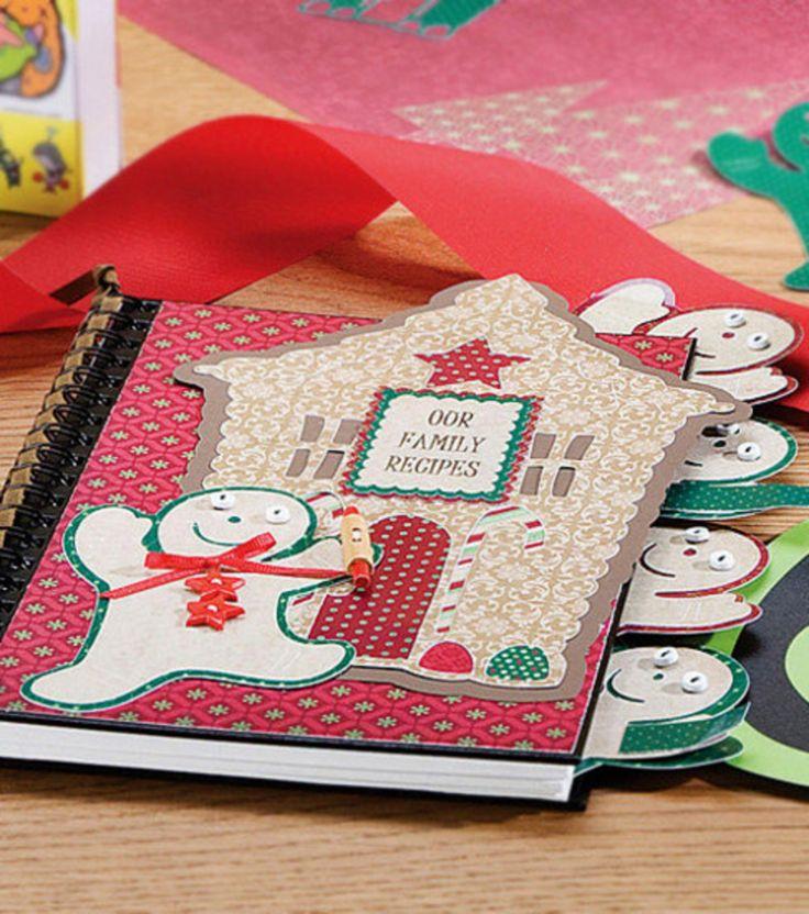 Family Recipe Book & Create Christmas Wonder at Joann.com