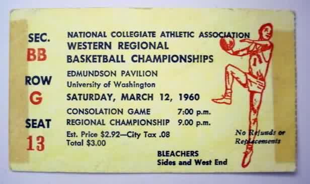 basketball ticket stubs - Google Search
