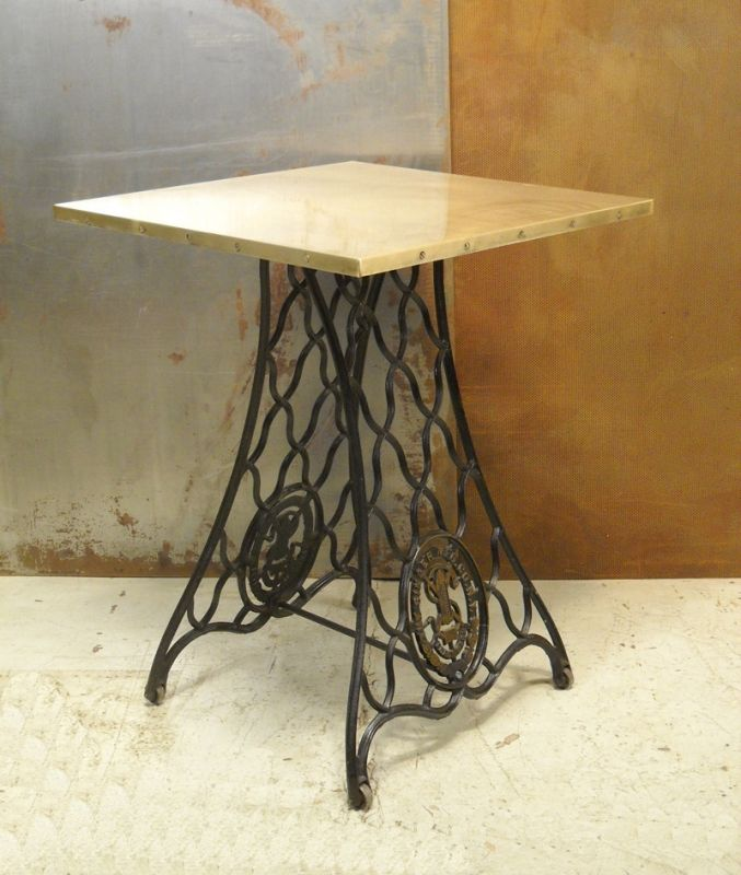 73 best images about singer sewing machine bases on pinterest industrial treadle sewing - Four ways to repurpose an old sewing machine ...