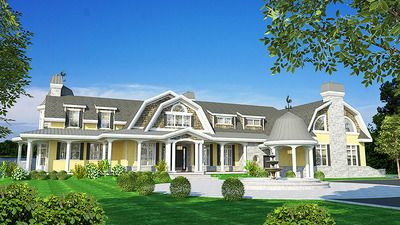 Gracious Shingle Style House Plan - 90276PD | 1st Floor Master Suite, Bonus Room, Butler Walk-in Pantry, CAD Available, Cape Cod, Corner Lot, Luxury, Multi Stairs to 2nd Floor, PDF, Shingle, Traditional, Wrap Around Porch | Architectural Designs