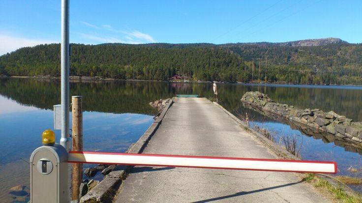 Norges siste kabelferge, Fjoneferga, Fjonesundet, Sundsodden
