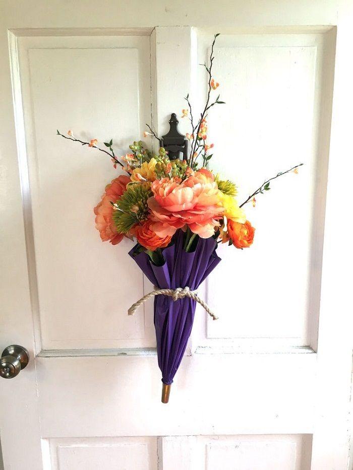 цветы в зонтике