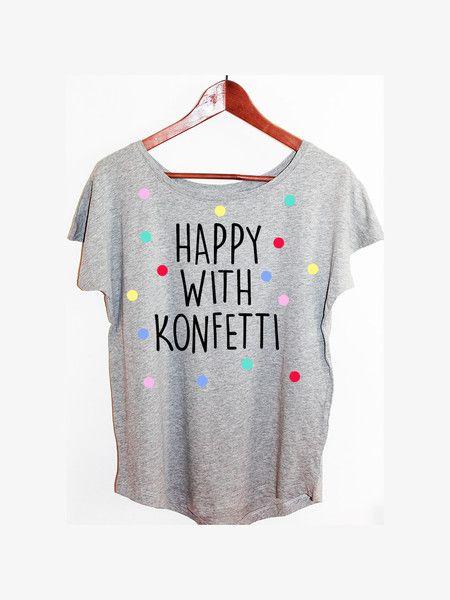 Shirt Konfetti Blogger Hipster Vintage Punkte