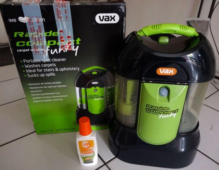 Injecteur extracteur portable pour tapis et intérieurs de voituresIdéal pour enlever les taches sur les sièges et tapis de voiture.Fourni avec son shampoing.
