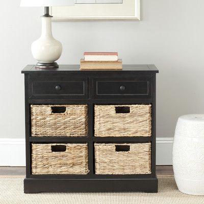 Safavieh Harry 6 Drawer Storage Unit | Wayfair