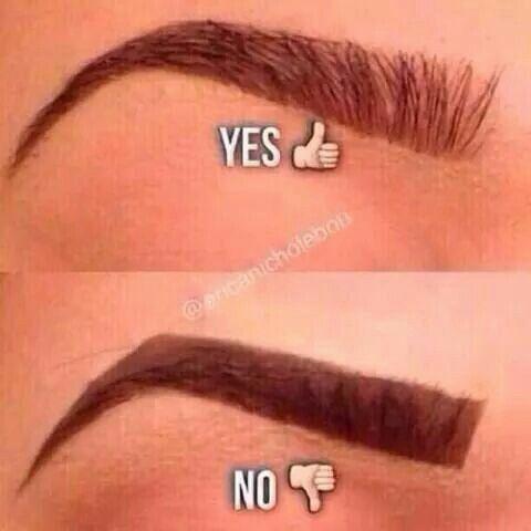 Výsledek obrázku pro how don't do eyebrows