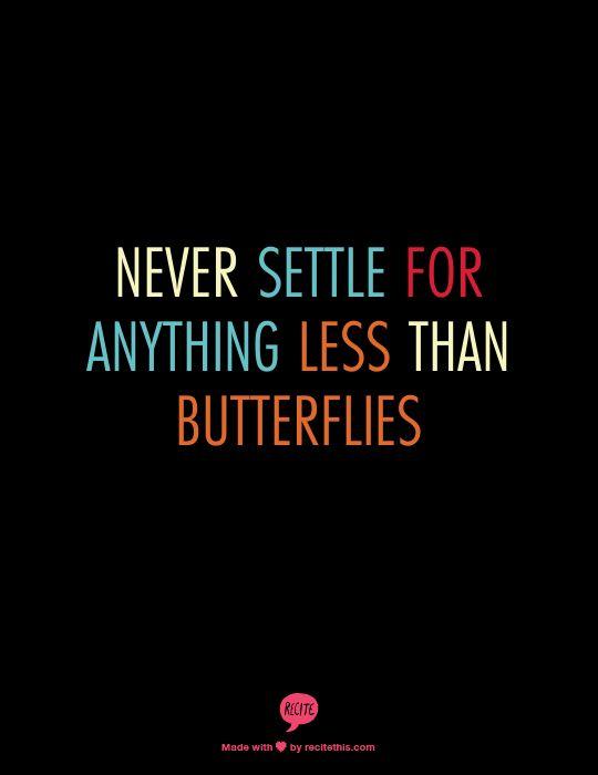 Constant butterflies. <3