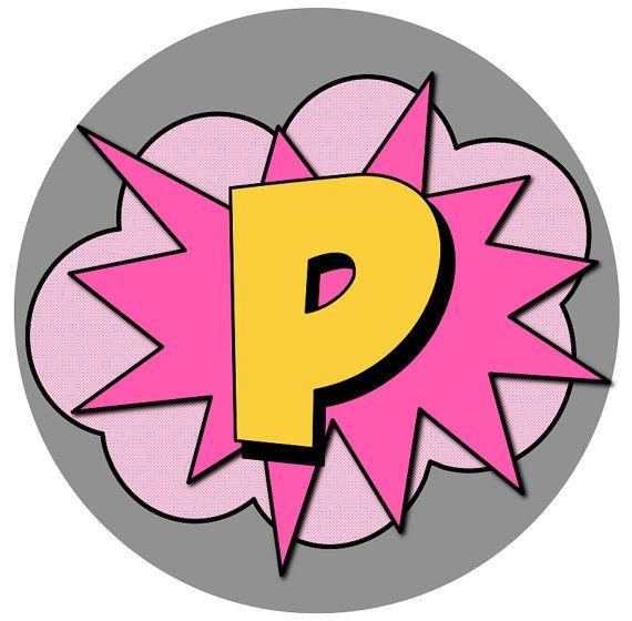 Super héroe partido Pink BATGIRL chica super por GlitterInkDesigns