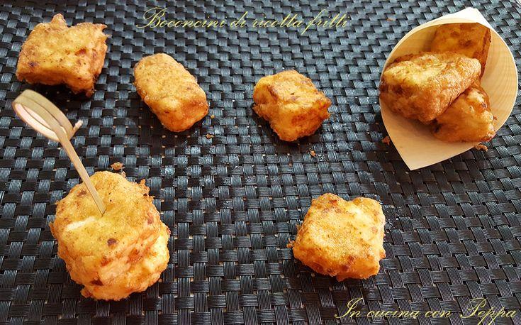 Bocconcini fritti di ricotta - ricotta ndurat e fritt