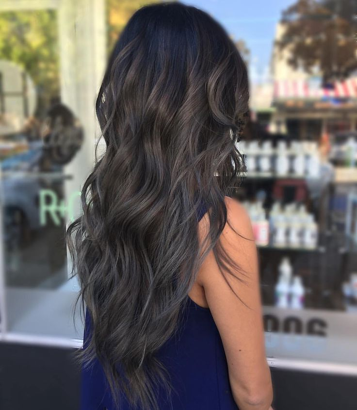 """263 Likes, 7 Comments - Claremont Salon Kut Haus (@kuthaus_claremont) on Instagram: """"⚔ @crystalteach⚔ Hair by @crystalteach ・・・ Smokey Ash Brown first session on going grey.…"""""""