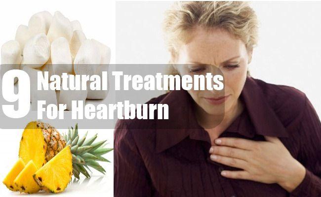 9 Natural Treatments For Heartburn