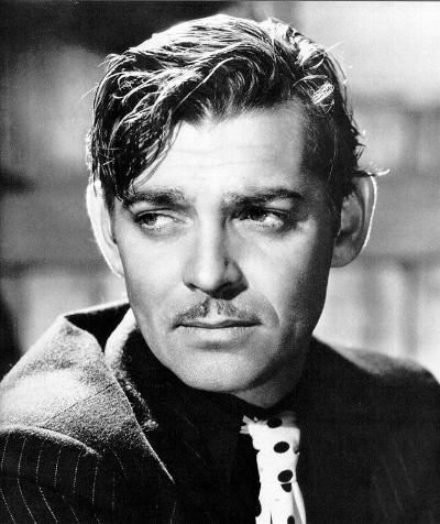 Clark Gable... (sort of looks like George Clooney actually) But there was one sexy man!