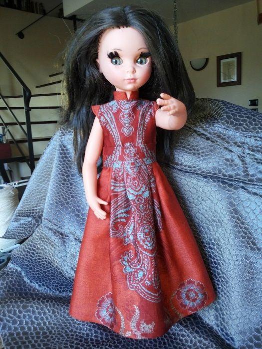 Vestitino stile indiano per Susanna Furga