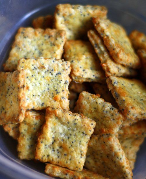 Parmesan Cheddar Crackers