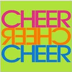 CHEER CHEER CHEER NEON SHIRT by XtremeSparkle  www.xtremesparkle.etsy.com/