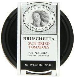 Cucina & Amore Sundried Tomato Brushetta (6×7.9Oz) – ResellerHub.store