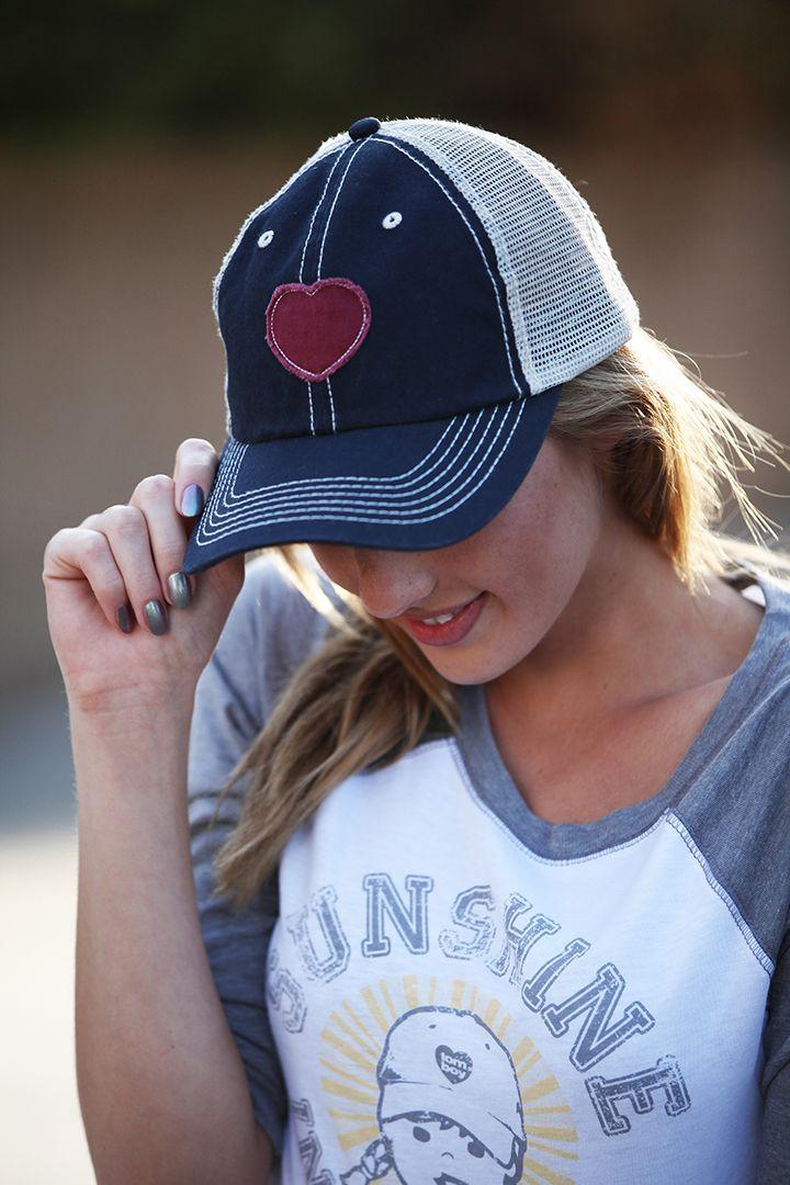 Women's baseball hat, trucker hat, vintage style baseball ...