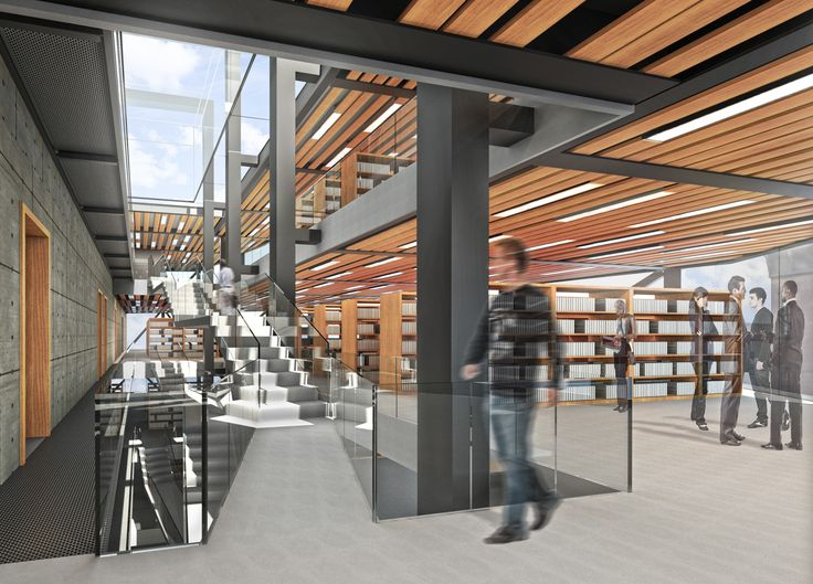 Old City Public Library; Interior View; 2N Architectural Design; www.nikosnasis.com