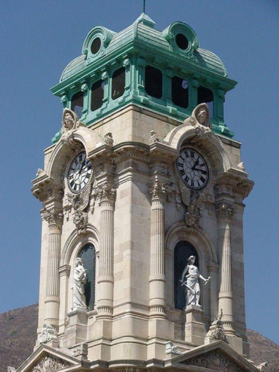 Reloj Monumental de Pachuca, Hidalgo, Mexico clock tower
