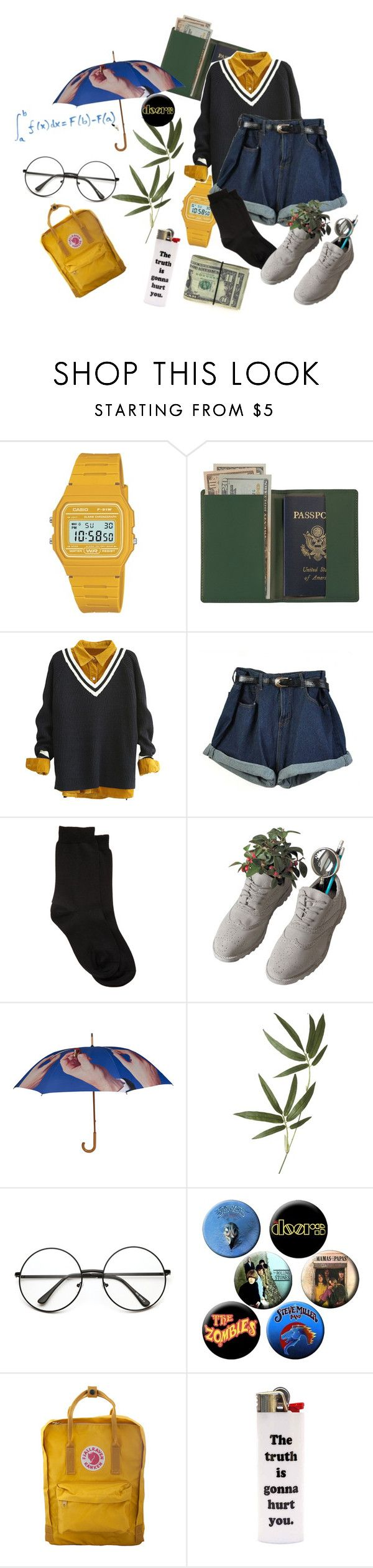 """Untitled #66"" by breadcactus ❤ liked on Polyvore featuring Casio, Royce Leather, Maria La Rosa, Seletti, Crate and Barrel and Fjällräven"
