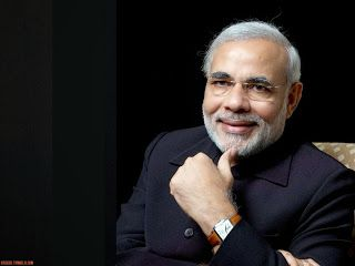 Narendra Modi In Suit