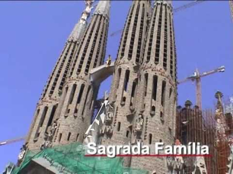 Barcelona, the capital of Catalonia, is second to Madrid a largest city in Spain with a population around 4.5 million. It is the largest city on the Mediterranean Sea. It is an important cultural center and major tourist destination. Warning:  Catalan, not Castilian, is mainly spoken in its streets. This video will give you peek at scenes from Barcelona.