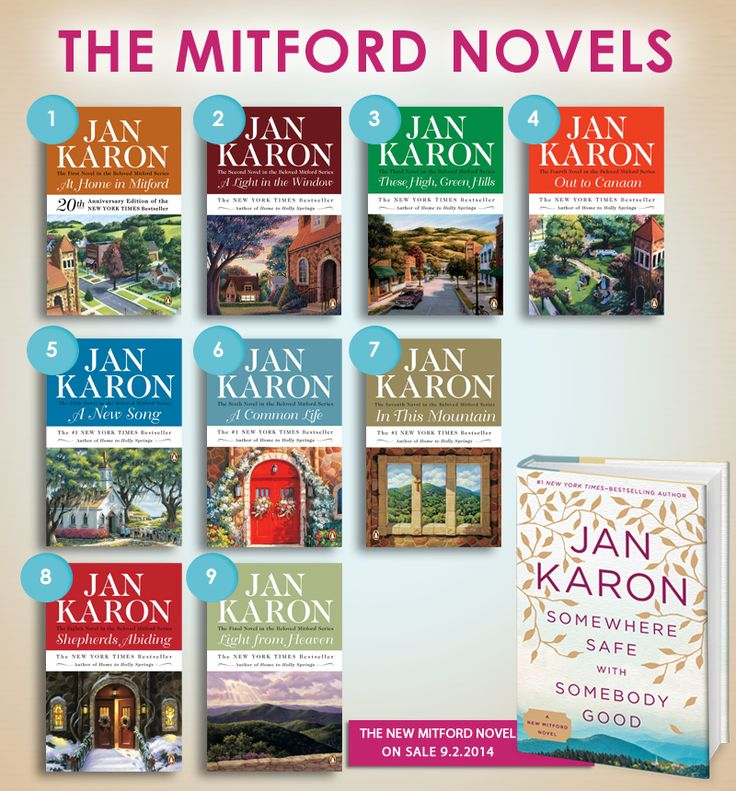 New Release: Somewhere Safe with Somebody Good by Jan Karon ~ A Mitford Series #Giveaway of 10 books! Ends: 9/1/2014 10:59 PM CST