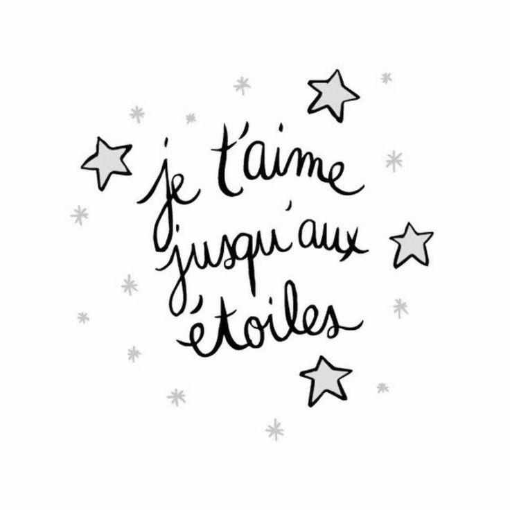 Je t'aime jusqu'au étoiles