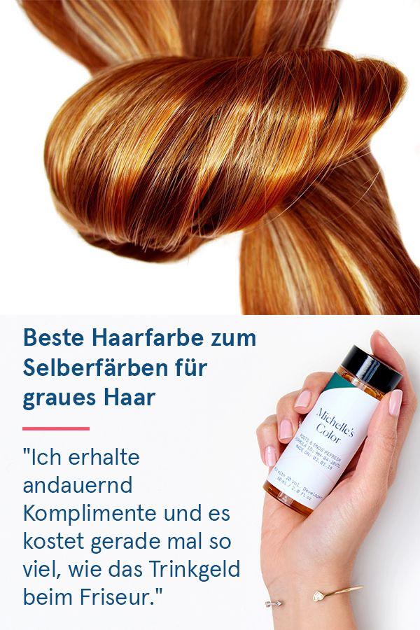 """Die einfache Lösung, graues Haar zu färben: """"Ich…"""