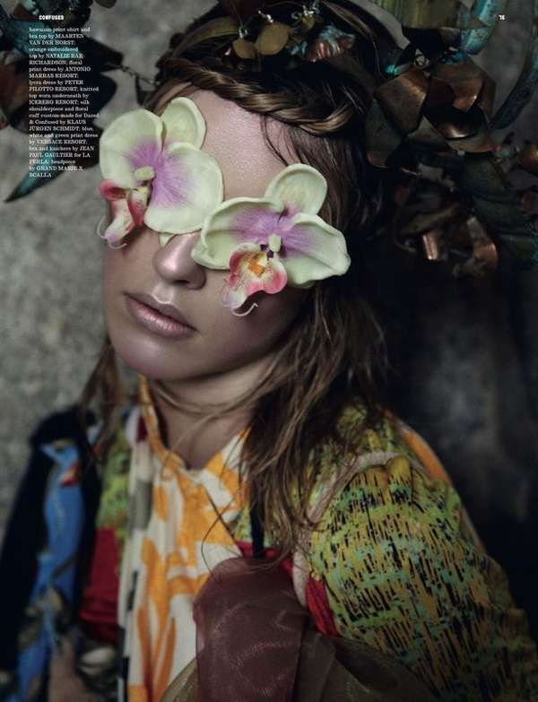 Super Natural Julia Frauche - Dazed & Confused Magazine is known for having editorials that push the limits on creativity, and the Super Natural Julia Frauche photoshoot doe...