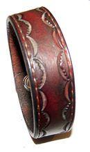 Item 050210 Deep Brown Western Bracelet