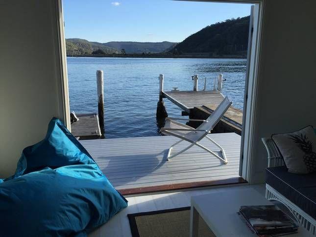 Hamptons Shack Boathouse, a Dangar Island Studio | Stayz