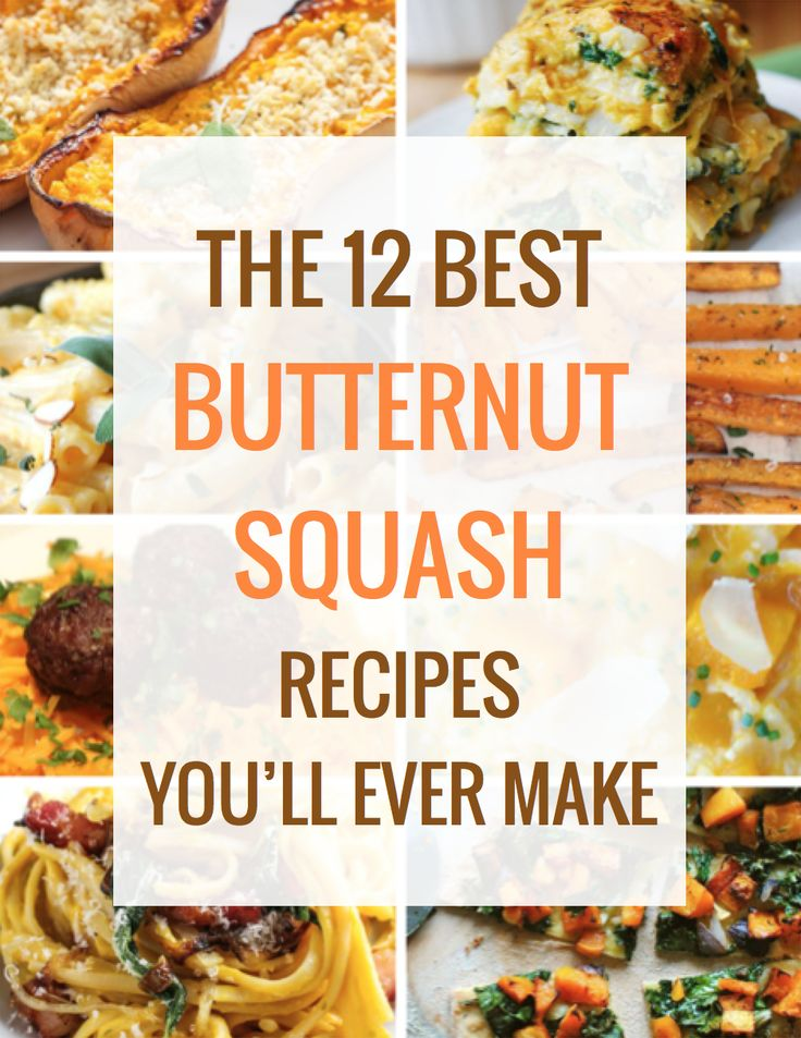 The 12 Best Butternut Squash Recipes You'll Ever Make | Best Comfort ...