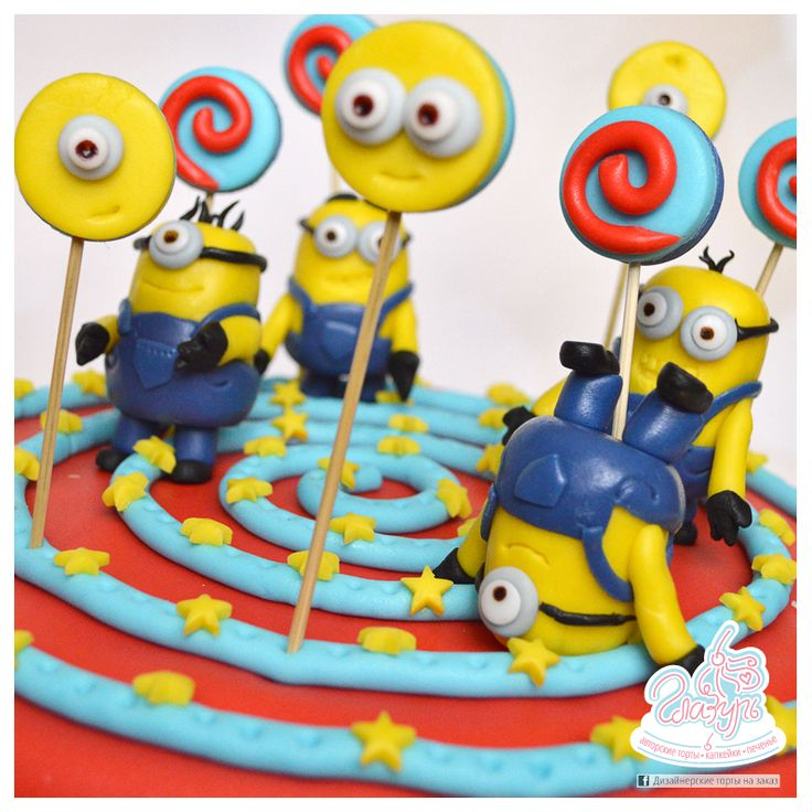 Minions cake https://www.facebook.com/katrin.smirnova.3958