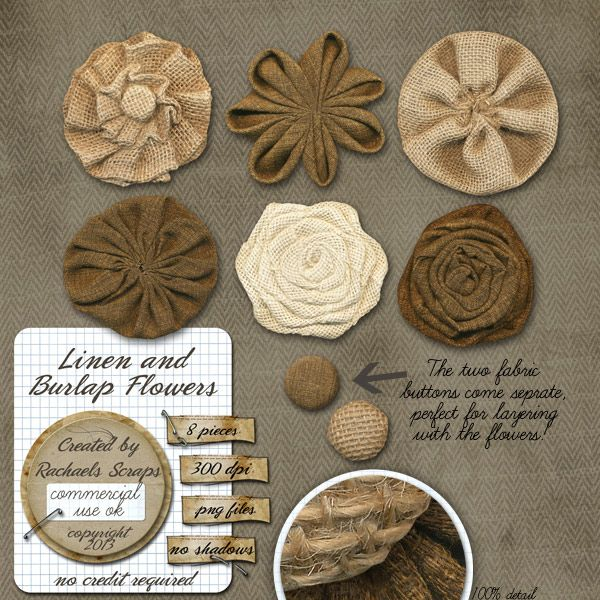 192 best images about paper flowers on pinterest tissue for Burlap flower template