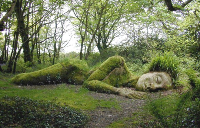 Mud Maiden, Lost Gardens of Heligan, Cornwall, England ~