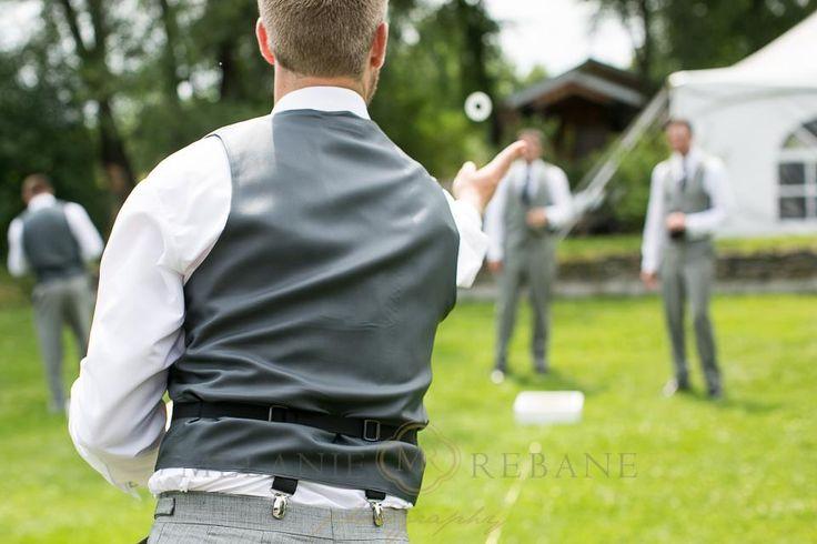 Stonefields Wedding | |Melanie Rebane|http://weddingphotographersottawa.ca/ #lawngames