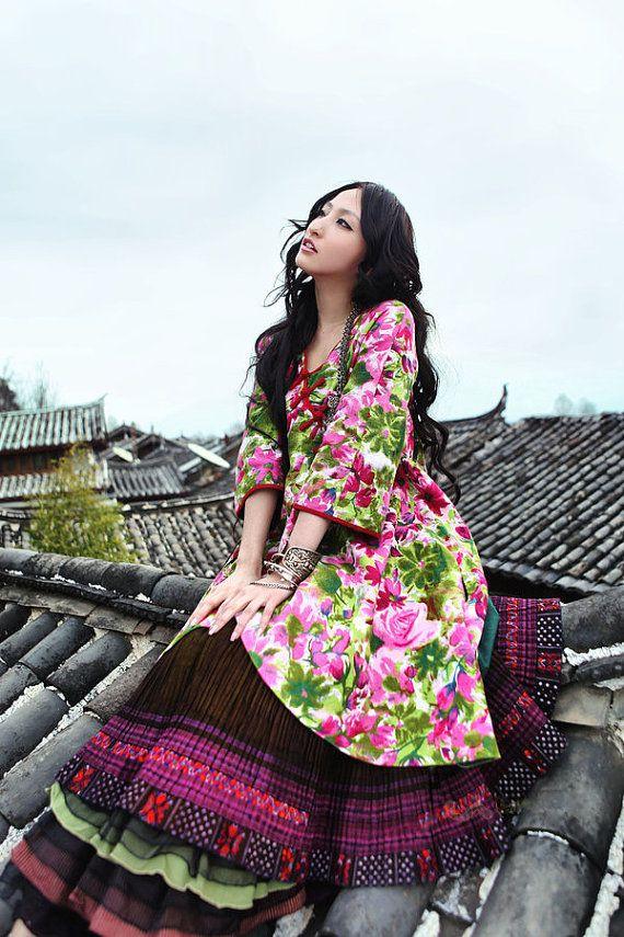 Одежда в стиле бохо от китайского модельера Artka Lee.