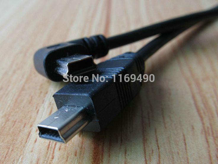 3 шт. м/м короткие мини usb b между мужчинами 5 P 90 угловые расширение линии передачи данных шнур разъемы кабеля 25 см номер для отслеживания