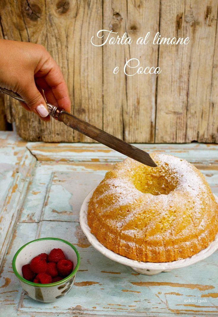 torta al limone e cocco