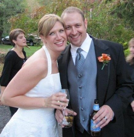 Jenah & Mat Edgcomb. Met at LVC as RAs in 2000. Married October, 2010.