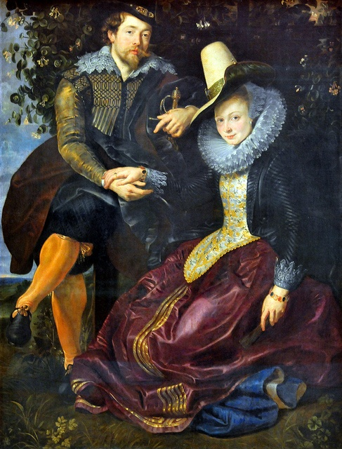 Peter Paul Rubens and Isabella Brant in the Honeysuckle Bower by Peter Paul Rubens: Flanders