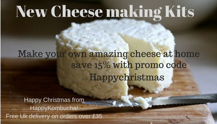 Save 15% off cheesemaking kits