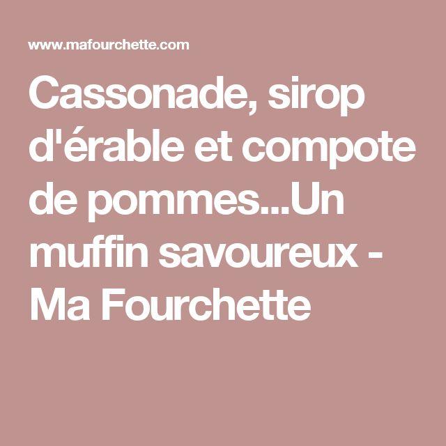 Cassonade, sirop d'érable et compote de pommes...Un muffin savoureux - Ma Fourchette