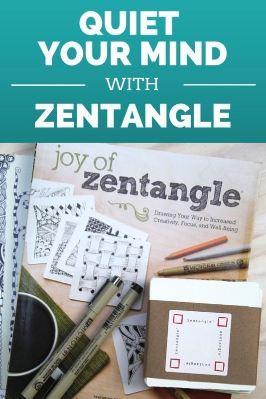 "A few tools you need to get started with Zentangle. It's where mindful ""doodling"" meets meditation. And it's one of my current favorite things. #spon"