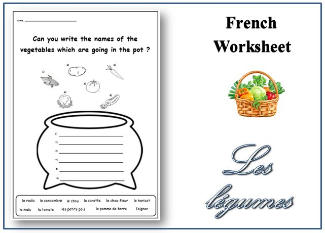 Common Worksheets » French For Beginners Worksheets - Preschool ...