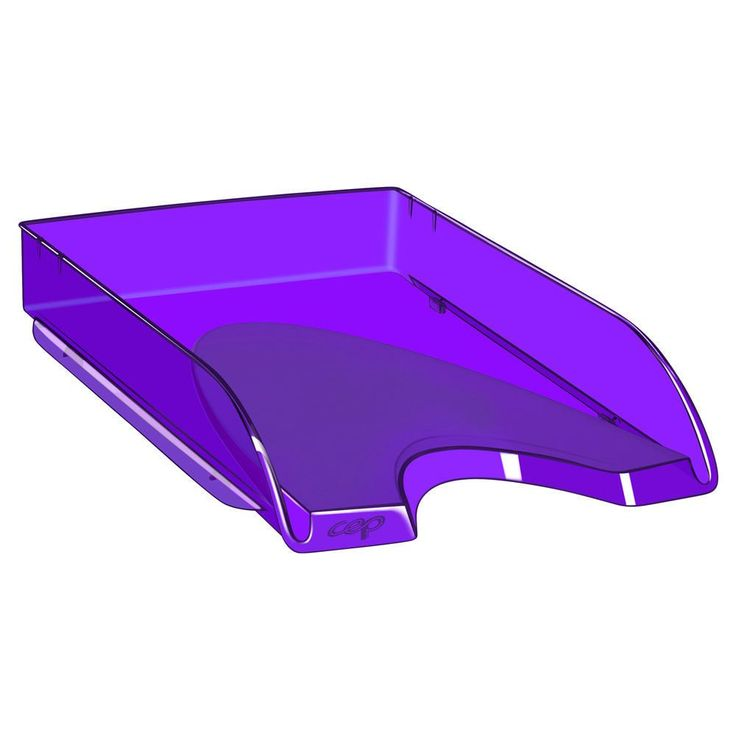 Cep Happy 200+H Letter Tray 348 x 257 x 66 mm Polystyrene Deep Purple: The CEP Happy 200+H Letter… #paper #pens #officesupplies #ink #toner